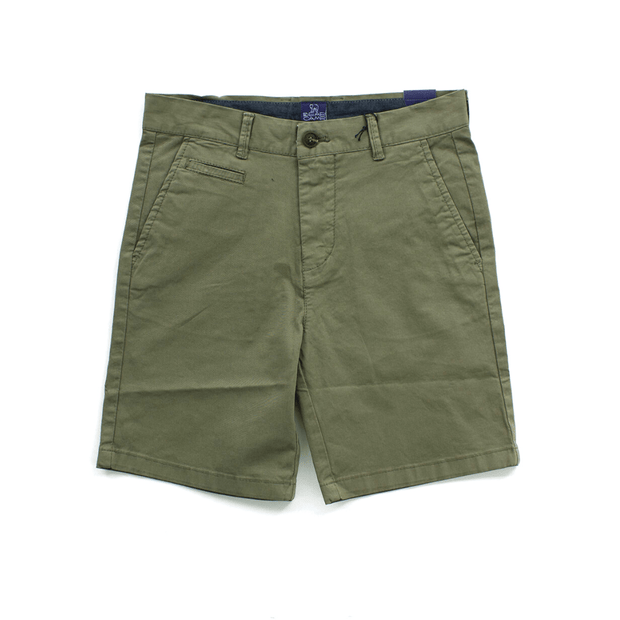 Bear Camp Shorts Green Twill Shorts