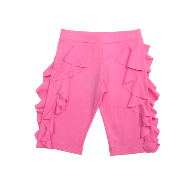 Lemon Loves Lime Shorts Pink Ruffle Shorts