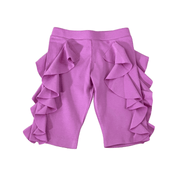 Lemon Loves Lime Shorts Purple Ruffle Shorts