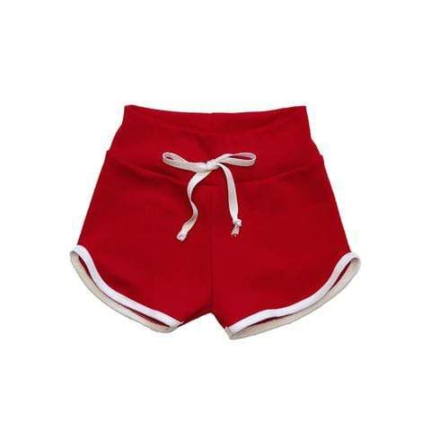 Skuttlebum Shorts 2T Red Retro Shorts