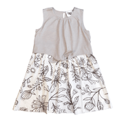 Young and Free sleeveless dress Girls Gray Tank Dress