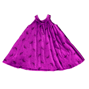 Pink Peony Kids sleeveless dress Girls Purple Twirl Dress