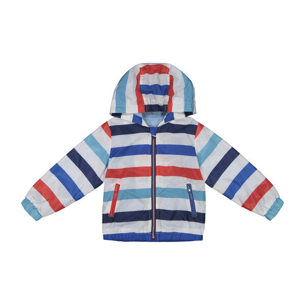 Striped Rain Jacket