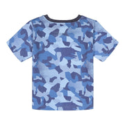Andy & Evan T-shirt Boys Blue Camo      Shirt