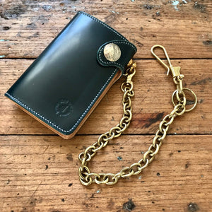 Brass Wire Fish Hook Wallet & Key Chain