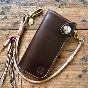 Tall Wallet - Horween Chestnut Chromexcel