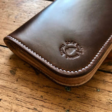 Load image into Gallery viewer, Tall Wallet - Horween Chestnut Chromexcel