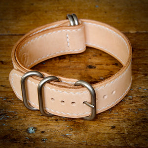 Watch Strap - NATO - Tärnsjö Natural Veg Tanned
