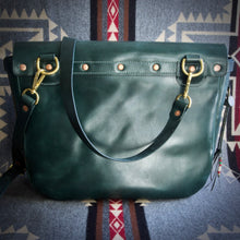 Load image into Gallery viewer, U.S. Mail Bag - Tärnsjö Dark Green Veg Tanned