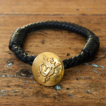 Load image into Gallery viewer, Personalized Vintage Button Bracelet