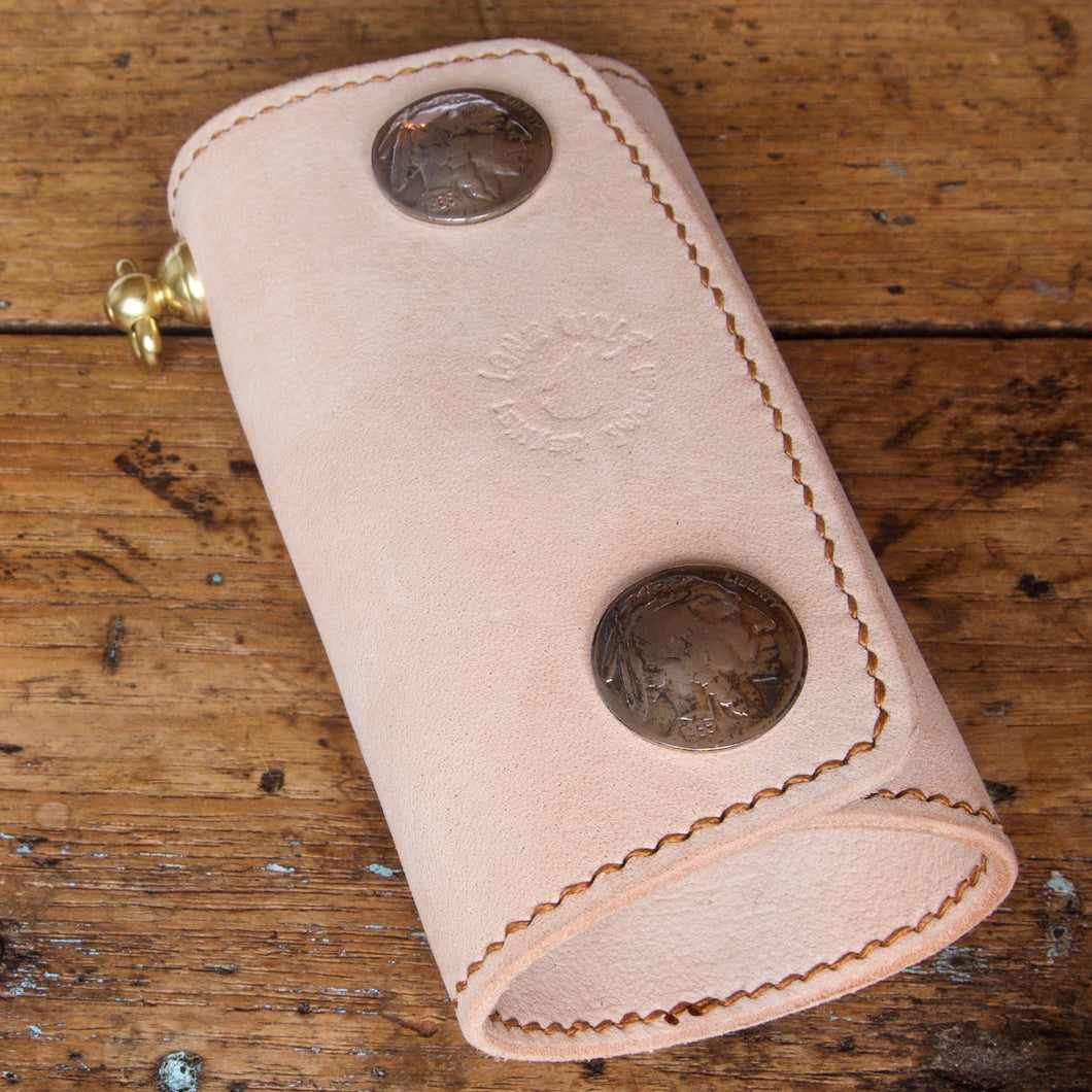 Key Case - Tärnsjö Nubuck Natural Veg Tanned