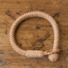 Load image into Gallery viewer, Braided Round Knot Bracelet - Natural Kangaroo