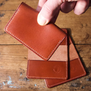 Card Wallet - Tärnsjö Saddle Tan Veg Tanned Leather