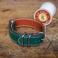 Load image into Gallery viewer, Watch Strap - NATO Tärnsjö Green Veg Tanned