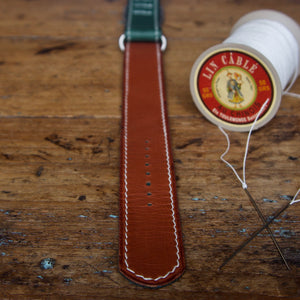 Watch Strap - NATO Tärnsjö Green Veg Tanned