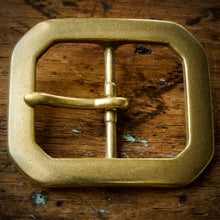 Load image into Gallery viewer, Belt - Horween Chromexcel Natural - Your Choice of Solid Brass Buckle