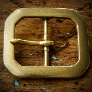 Belt - Horween Chromexcel Natural - Your Choice of Solid Brass Buckle