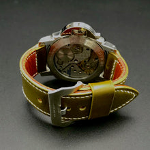 Load image into Gallery viewer, Watch Strap - Shinki-Hikaku Olive Green Shell Cordovan