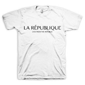 République Short-Sleeve Tee Shirt (White)