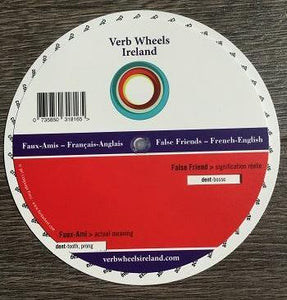 False Friends Pocket Wheel | Verb Wheels Ireland