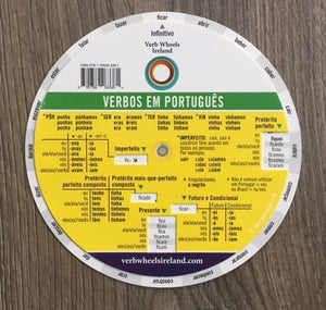 Portuguese Verb Wheel | Verb Wheels Ireland