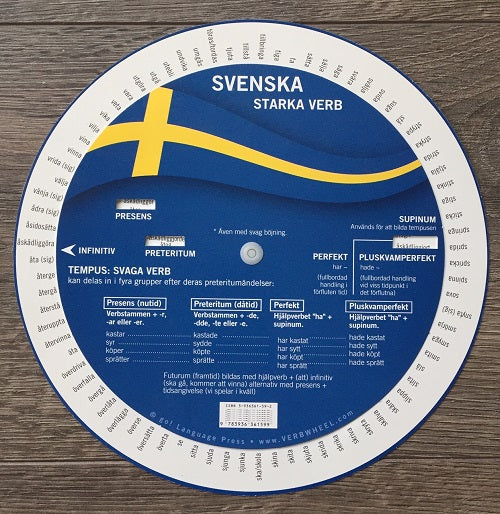 Swedish Irregular Verb Wheel | Verb Wheel Ireland