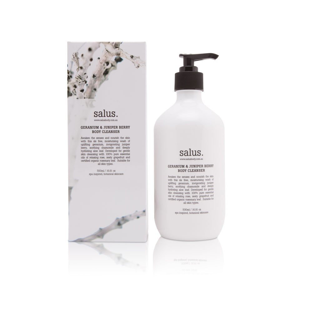 Salus Body Washes & Scrubs