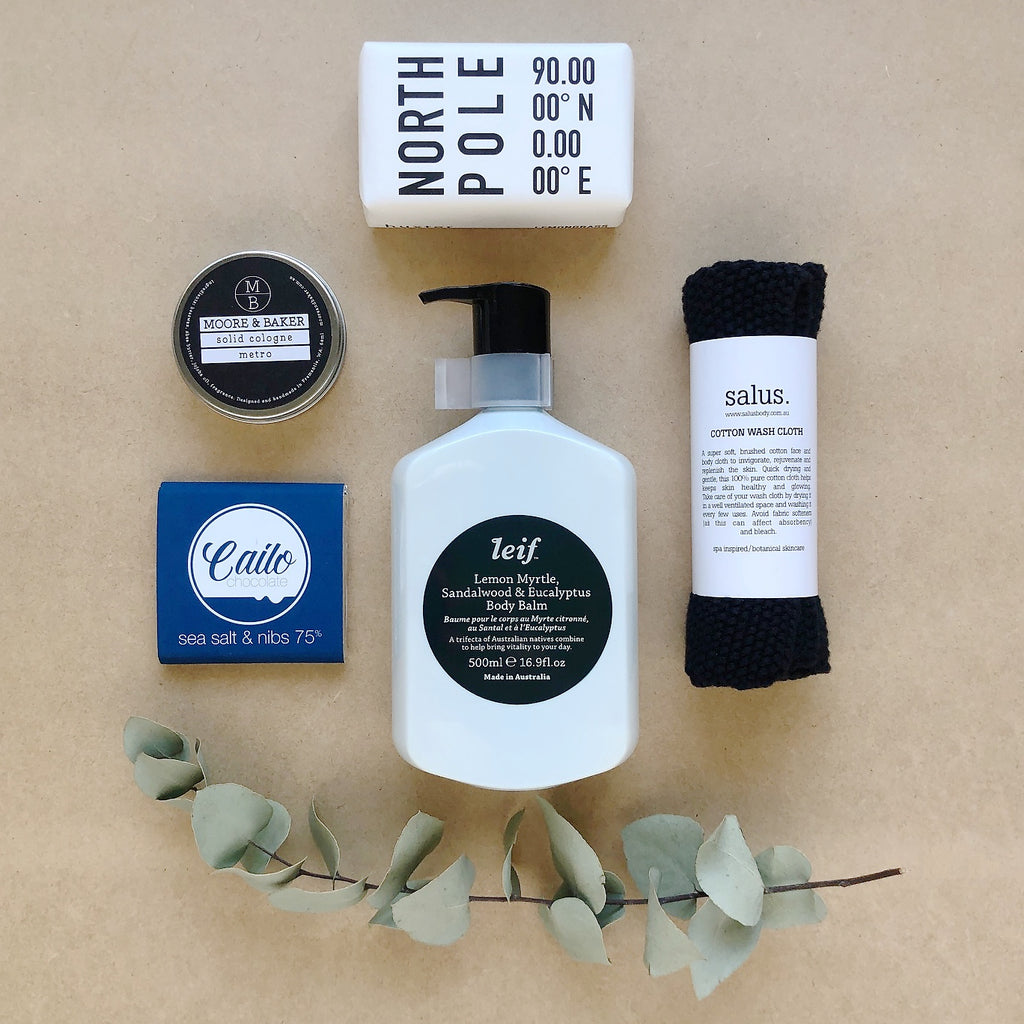 Pamper Hamper for Him - Christmas Edition