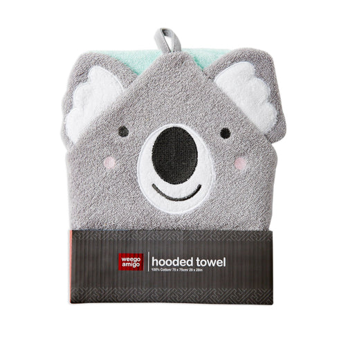 Weegoamigo Bath Mitts & Hooded Towels