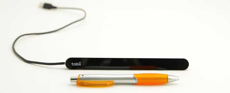 Learn more about the Tobii Dynavox PCEye Mini