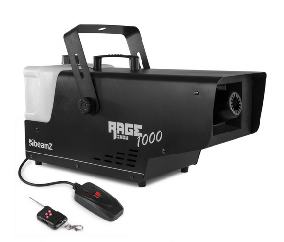 RAGE1000 SNOW MACHINE WITH WIRELESS CONTROLLER