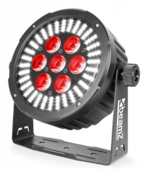 Beamz bac502 led par 64