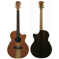 CCAN2EC-RDRW – Redwood Top with Indian Rosewood Back and Sides