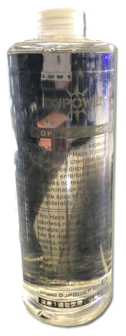 PRO H1 OIL BASED HAZE FLUID 1L