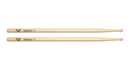 Vater 7A Nylon Tip Hickory Drum Sticks (pair)