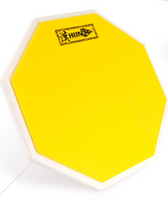 Hun Portable Octagon Single Side Colored Silicone 10-inch Drum Practice Pad