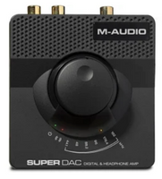 M-Audio Super DAC 24-bit/192kHz USB audio DAC with analog and di