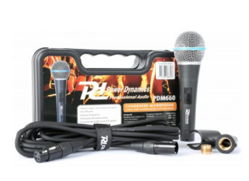 Power dynamics PDM660 condenser microphone in case