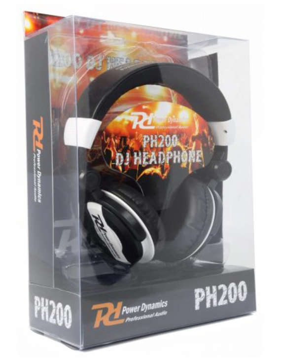PH200 DJ HEAD head phones white