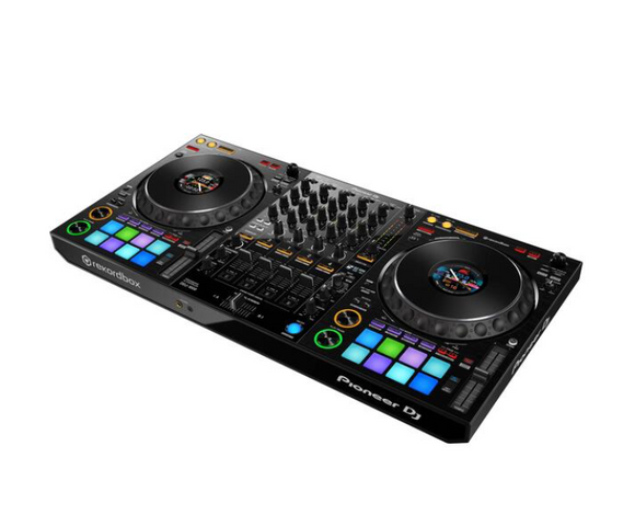 DDJ-1000 4 Channel Rekordbox Controller With Customisable Colour LCD On The Jog Wheels