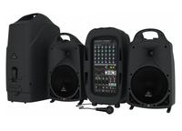 Behringer PPA2000BT Ultra-compact 2000-Watt 8-channel Portable PA System with Bluetooth