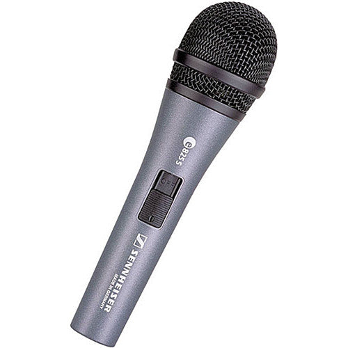 Sennheiser E825-S Cardiod Dynamic Microphone with on and off switch