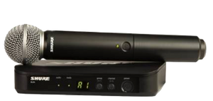 SHURE BLX24E/SM58-TII Handheld Wireless Microhone System