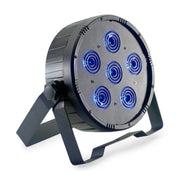 Stagg flat ECOPAR 6 spotlight with 6 X 30-watt RGBW 4 In 1 LED