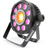 BX94 PAR 64 with COB LED and strobe 9X 6W 4-1 RGBW LEDS 150.740B