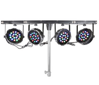 LED PARBAR 4-WAY KIT 18X 1W RGB DMX no stand