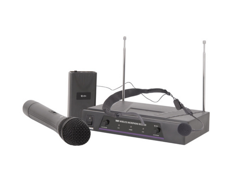 Handheld & Neckband VHF Wireless System
