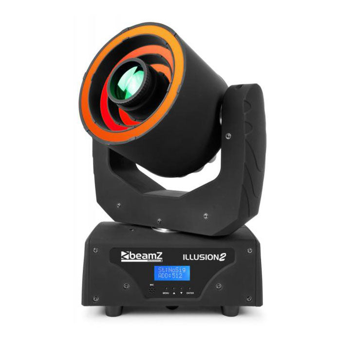 Illusion II Moving Head With 3 LED Rings