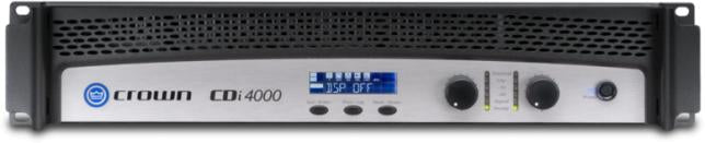 Crown CDi4000 2x1400W Professional Install Power Amplifier