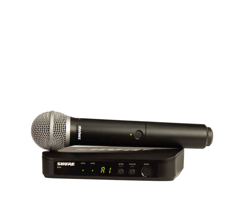 Shure BLX24E/PG58-T11 Single Handheld Wireless Microphone System
